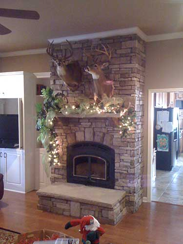 Finished Fireplace Installation